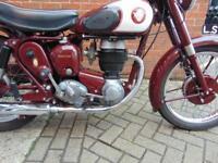 1955 BSA C12
