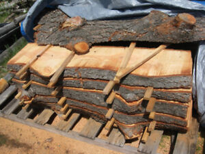 live edge fir slabs