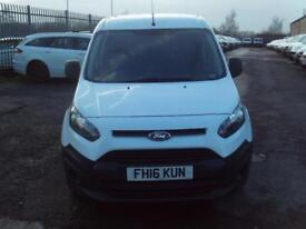 Ford Transit Connect T220 swb 1.5tdci 75ps DIESEL MANUAL WHITE (2016)