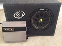 Car Sub & Amp £100 or best offer