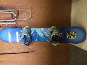 Compete snowboard package