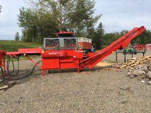 New From Hakki PRO 43 Firewood Processor Supreme !!