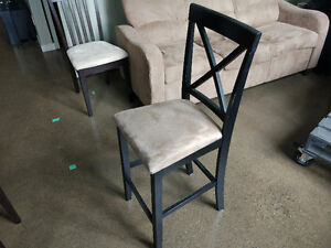 Suede Bar Stool in great condition