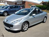 PEUGEOT 307 2.0 CC CONVERTIBLE (ONLY 68,000 MILES) ONE FORMER KEEPER