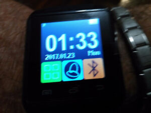 SMART WATCH WORKS WITH ALL CELL PHONES