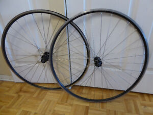 Shimano Road Bike wheel set, front and rear, 8/9/10 speed