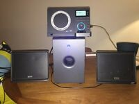 TEAC CD / DAB radio / iPhone Hi-Fi with 80w subwoofer