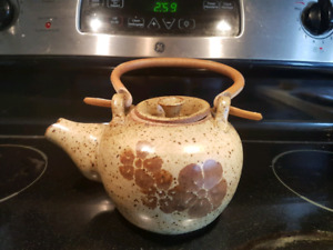 Pottery Tea Kettle