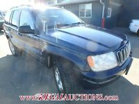 2001 JEEP GRAND CHEROKEE 4D 4WD