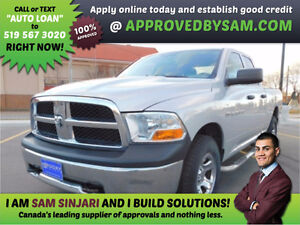 RAM 1500 - HIGH RISK LOANS - LESS QUESTIONS - APPROVEDBYSAM.COM Windsor Region Ontario image 1