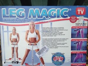 Leg magic work out machine