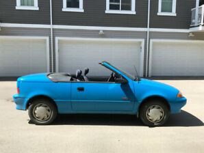 1991 Pontiac Firefly LE Convertible - LOW KM'S  GREAT CONDITION!