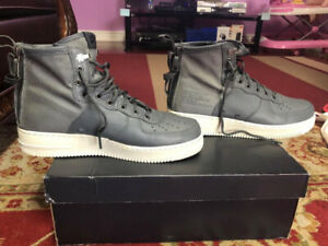 wholesale dealer 3409b 84784 Nike SF Air Force 1 Mid Shoes - Dark Grey