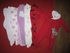 Girl's Sleepers Size 3-6 Months London Ontario image 1