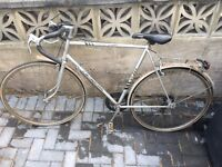 Adults 5 speed vintage road bike only £60