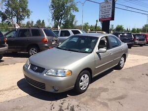 Nissan Sentra 4dr Sdn GXE Auto 2003