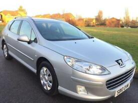 PEUGEOT 407 SW 1.6HDi FAP (2010 10 REG) DIESEL + ESTATE + 1 COUNCIL OWNER