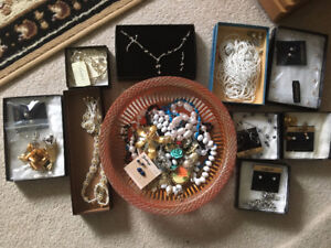 Assorted Brooches,Pins, Necklaces, Jewellery Sets