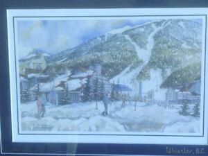 2 Framed Prints of Whistler Blackcomb by Sue Quarles North Shore Greater Vancouver Area image 4