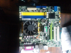 Amd Motherboard and CPU