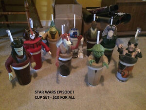 STAR WARS TOY SALE!! TOPPER CUPS EPISODE I