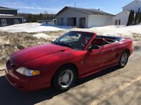 Mustang convertibel 1994 ultra propre