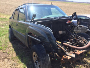 Chevrolet avalanche 2500 for parts