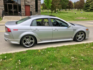 2008 Acura TL Aspec Silver and Taupe