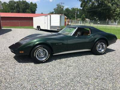 1974 Green Chevrolet Corvette   | C3 Corvette Photo 1