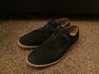 Men's Black suede shoes