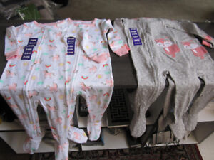 Sleepers, Carter's, Girls Size 24 Month, BNWT