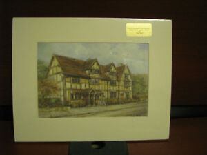 2 Pat Bell Prints matted   NEW