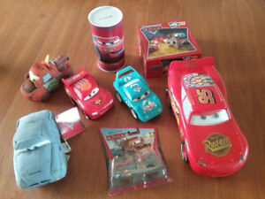 Disney Cars Toys & Framed Picture
