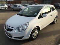 Vauxhall/Opel Corsa 1.0i 12v Life 2008/58 85K IN WHITE