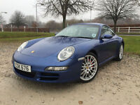 2005 Porsche 911 Carrera S Tiptronic S 3.8 2dr Coupe Petrol Automatic in Blue