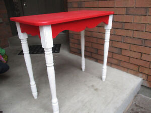 Happy Canada Day!!! Red/White Table for Sale
