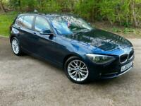 BMW 116D Diesel Sport 5 Door Automatic Auto Blue 2012/62 Reg 1 Series 116