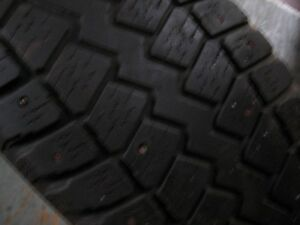 4- studded p215/70r16   Winterquest  tires