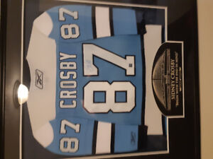 Crosby  signed jersey