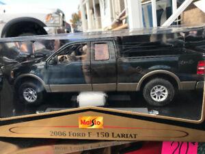 Ford f 150 xlt lariat 2006 diecast 1/18 Die cast