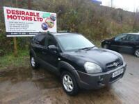 2005 Hyundai Tucson 2.0 CRTD CDX 5dr Estate Diesel Manual