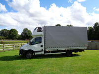 LHD LEFT HAND DRIVE Iveco Daily LAMAR CABIN LWB HIGH TOP 2012 CURTAIN S VAN
