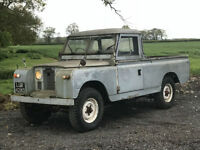 1966 Land Rover Series 2 2.25 Petrol 109 Pick up ( BARN FIND)