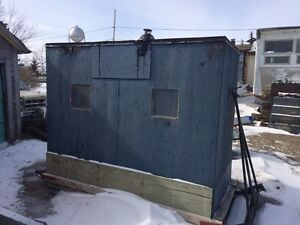 2-3 man Ice fishing shack