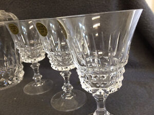 Collectible Antique Crystal Glasses, Bud Vases & Covered Dish London Ontario image 2
