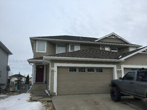 Large 2+1 bedroom, 2.5 bath,duplux with double attached garage