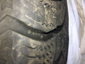 Fiat 500L Winter Tires on Rims LIKE NEW - ONLY 1/2 SEASON DRIVEN