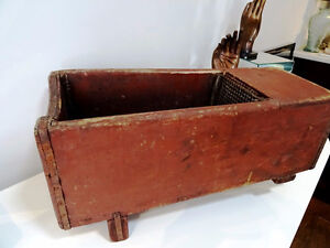 early PRIMITIVE wine press TREEN sommelier FARM WINERY