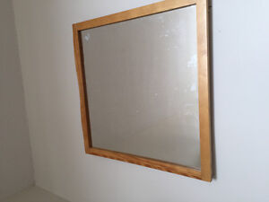 32 inches * 32 inches square hanging Mirror. Price Negotiable.