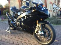 Aprilia RSV4 Factory APRC track / race bike with paperwork/numbers